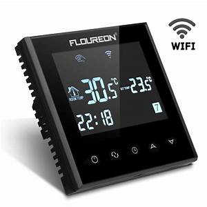 Smart Home Fußbodenheizung : funk raumthermostat wifi smart digital touchscreen fu bodenheizung thermostat ebay ~ Orissabook.com Haus und Dekorationen