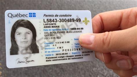 nouveau permis de conduire validité un nouveau permis de conduire plus s 233 curitaire ici radio canada ca