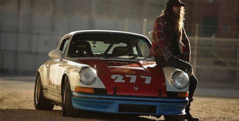 Magnus Walker. Porsche 911. Downtown Los Angeles. La Nuit