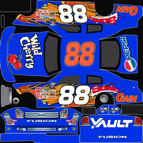 nascar templates 17 best images about paper cars on cars papercraft and bmw