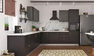L-shaped, Kitchen