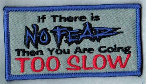No Fear Too Slow Patch