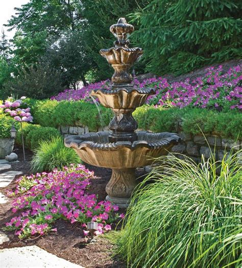 landscaping fountains 17 best images about fountain landscaping on pinterest bird baths winter flowers and backyard
