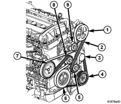 alternator for 2003 hyundai santa fe dodge caliber i need a serpentine belt routing diagram for