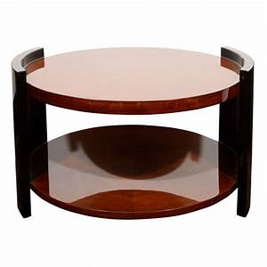 193039s art deco two tier round occasional or cocktail With two tier round coffee table