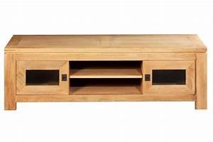 Meuble Chene Clair : meuble tv bas chene clair ~ Edinachiropracticcenter.com Idées de Décoration