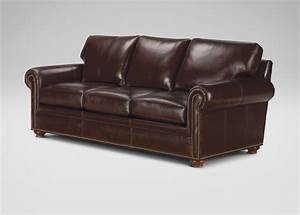 ethan allen leather sofas sofas and loveseats leather With leather sectional sofa ethan allen