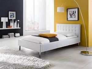 Möbel Farbe Weiß : meise m bel polsterbett joe wei liegefl che 100 x 200 ~ Sanjose-hotels-ca.com Haus und Dekorationen