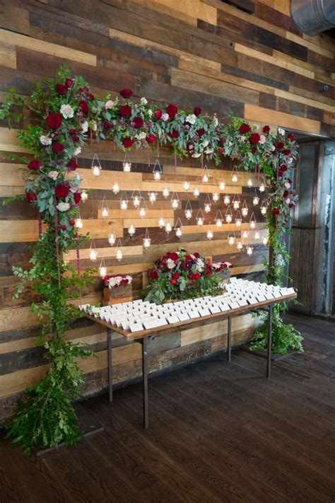 30 Awesome Winter Red Christmas Themed Festival Wedding