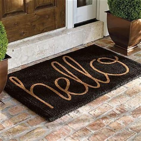 Doormats For Doors by 25 Best Ideas About Front Door Mats On