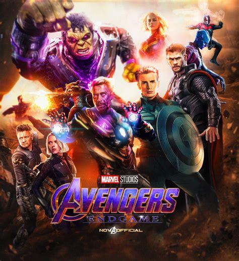 Avengers 4 Endgame Poster 4k