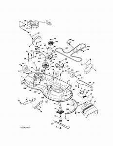34 Craftsman 46 Mower Deck Belt Diagram