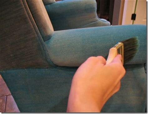 teindre canapé tissu votre fauteuil préféré en tissu est taché repeignez le
