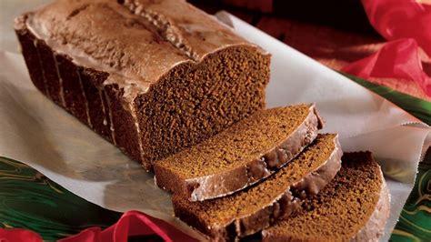 gingerbread loaves recipe pillsburycom