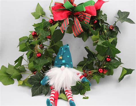 Türkranz Advent Weihnachten by Nicoles T 252 Rkranz Mit Wichtel F 252 R Weihnachten Und Advent