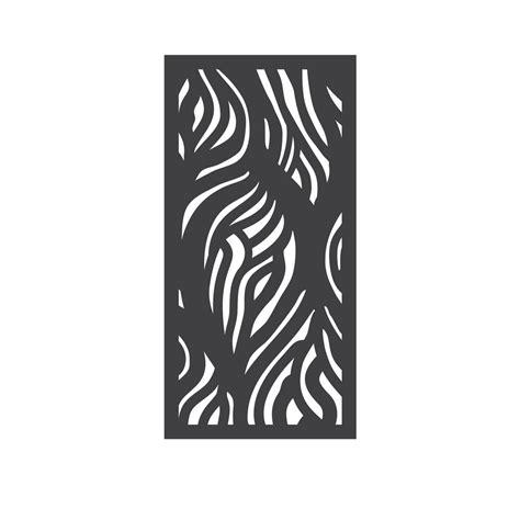 outdeco         wooloomai modular hardwood composite decorative fence panel