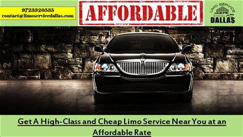 Limo Service Rates by Get A High Class And Cheap Limo Service Near You At An