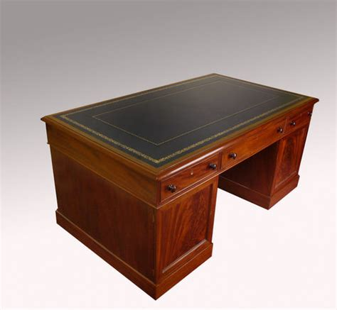 partners desk for sale antique victorian mahogany partners desk for sale