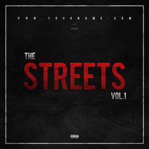 street mixtape cover template vms With free mixtape covers templates
