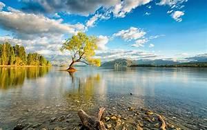 Wanaka, New, Zealand, Lake, Wallpaper, Hd, Wallpapers13, Com