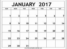 Online Printable Calendars 2017 » Calendar Template 2018
