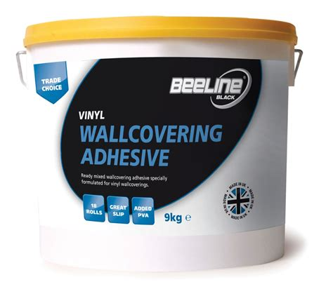 Beeline Vinyl Wallcovering Adhesive 9kg Decorating