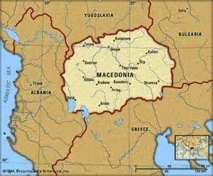Where Is Republic of Macedonia