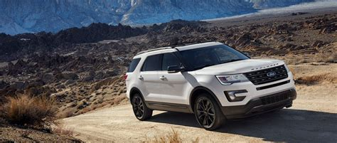 towing capacity    ford explorer