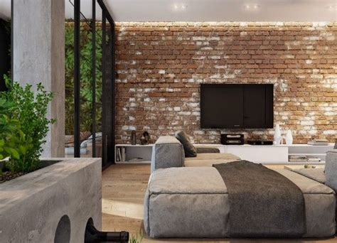5 Houses That Put A Modern Twist On Exposed Brick by 5 Houses That Put A Modern Twist On Exposed Brick Rustic