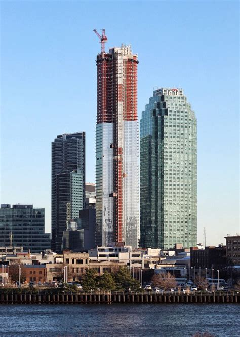 skyline towers crown begins formation  long island city