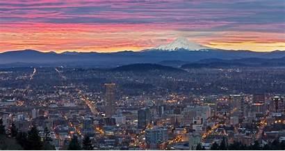 Portland Oregon Wallpapers Sunrise Desktop 4k 1080p