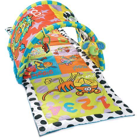 tapis d eveil fisher price zoo deluxe playgro zany zoo tunnel walmart