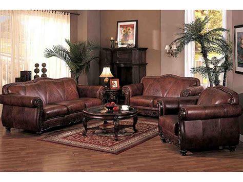 brown leather living room set decor ideas
