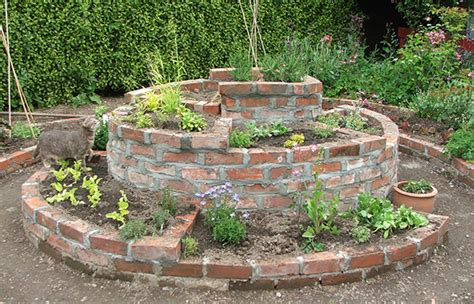 The Brick Herb Spiral Is Finished