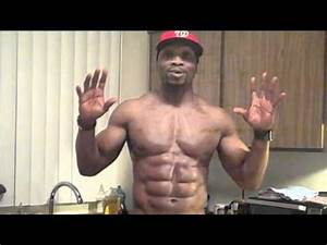 King Of Abs 8 Pack Hitch/Dieting and Flexing - YouTube
