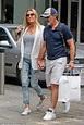 Antonio Banderas and girlfriend Nicole Kimpel enjoy ...