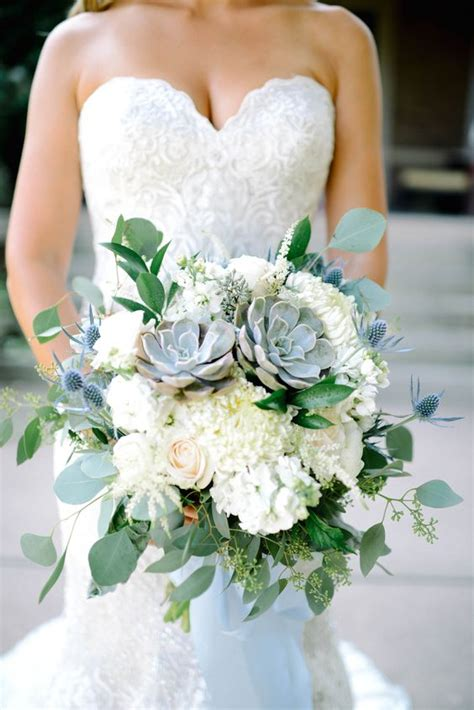top  rustic succulent wedding bouquets roses rings
