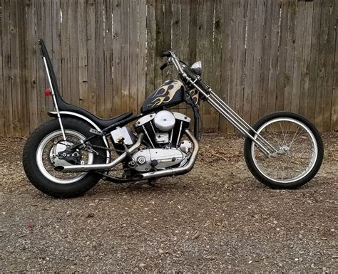 1965 Harley-davidson Sportster Xlch Chopper For Sale Via