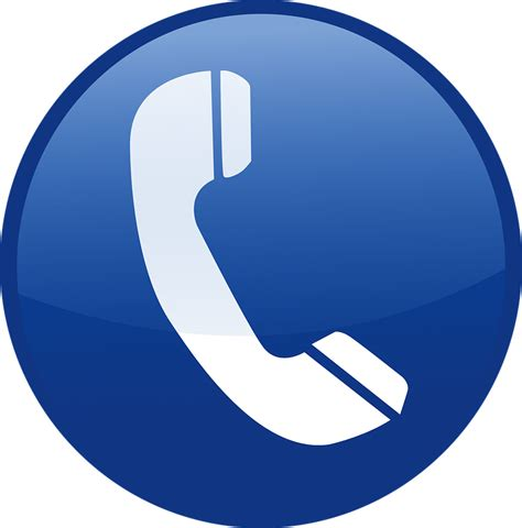 telephone icon png blue blue icon telephone 183 free vector graphic on pixabay