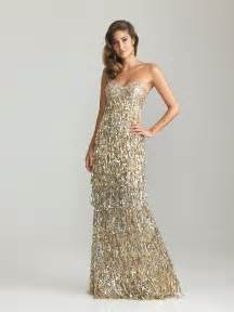gold sequin evening gown sequined evening dress pictures