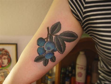 blueberry tattoo designs ideas design trends