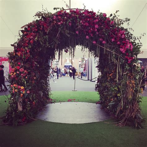 winter wedding floral arches inspired  london design