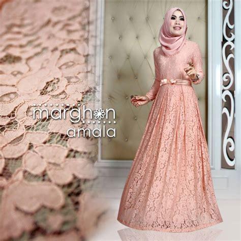dress gamis muslim elegan tren busana muslim wanita terbaru nibinebu