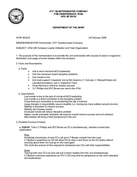Army Briefing Template Army Briefing Template Outletsonline Info