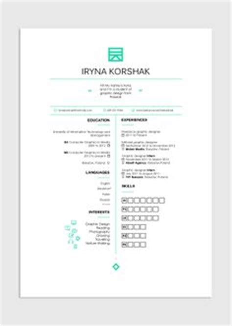 13288 simple graphic design resume 1000 images about cv on resume resume design