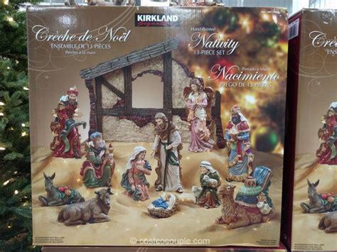 kirkland signature   piece nativity set