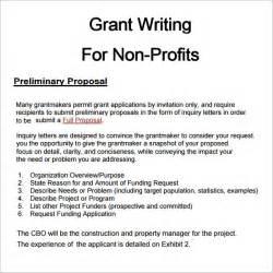 grant writing sle templates 6 grant templates pdf doc
