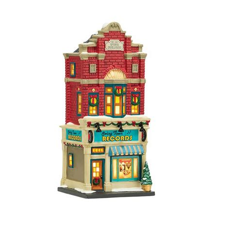 city lights collectibles department 56 4036492 swing town records
