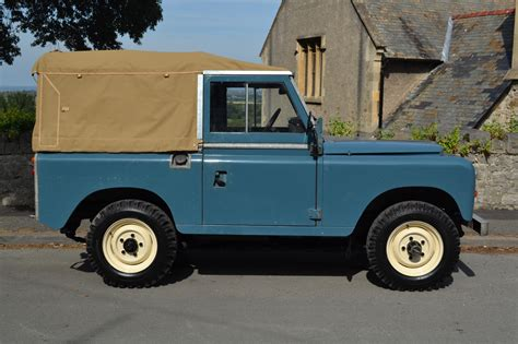 original land rover land rover series 3 88 quot softop 2 owners and 58 000 miles