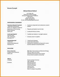 7  Curriculum Vitae Example Pdf